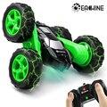 Eachine EC02 RC Автомобиль 2,4G 4WD трюк Дрифт деформация Багги ролл автомобиль 360 градусов флип робот модели автомобилей высокая скорость Рок Гусени...
