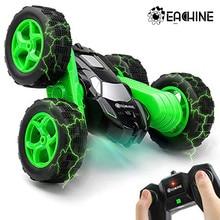 Eachine ec02 rc carro 2.4g 4wd dublê drift deformação buggy rolo carro 360 graus flip veículo robô modelos de alta velocidade rock crawler