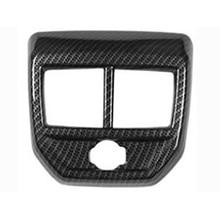 Frame for Peugeot 3008 GT Trim Panel Outlet Armrest Air-Conditioner-Vent-Cover Carbon-Fiber