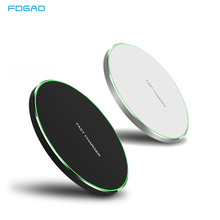 15W Quick Qi Wireless Charger For iphone Xs Max/XR/X/Huawei Mate20 Pro Samsung S9 S10 Type C Fast 10W Charging Pad