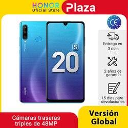 Новая глобальная версия Honor 20 S 20 S 6GB 128GB смартфон 6,15 дюймDewdrop экран 24MP фронтальная камера 48MP Тройная камера мобильные телефоны NFC