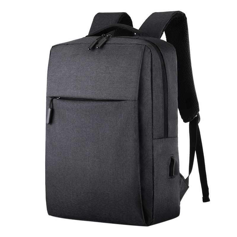 Ba Lô USB Nam Ba Lô Laptop 16 Inch Backbag Du Lịch Daypacks Nam Schoolbag Giải Trí Chống Trộm 4 Màu