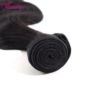 Image 2 - Body Wave Brazilian Hair Weave Bundles 100% Remy Human Hair Bundles 30 32 34 Inches Natural Color 1/3/4 Bundles Hair Extensions