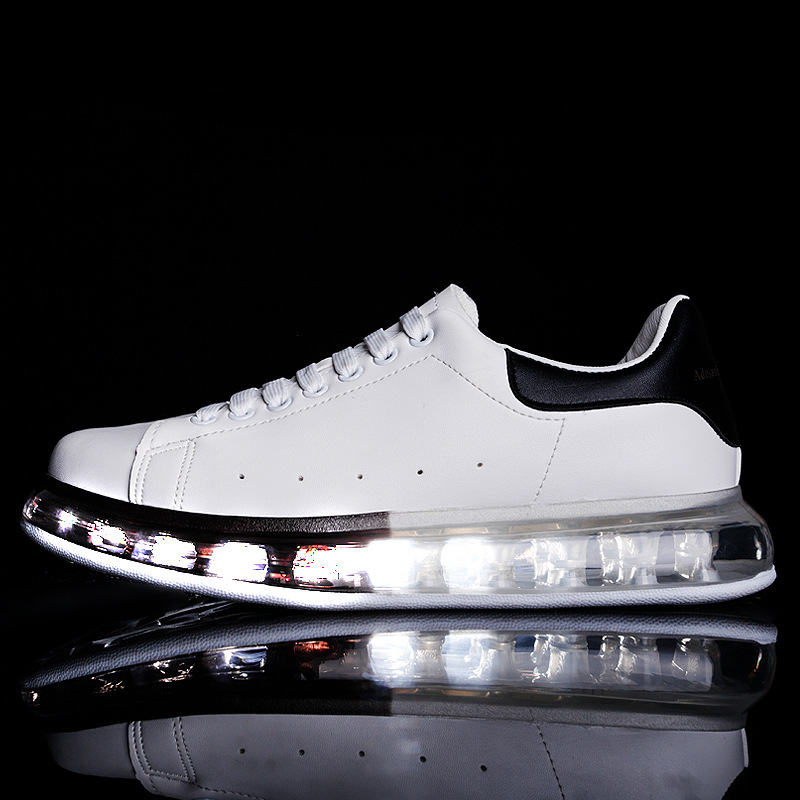 Cheap Full Air Cushion Male Shoe 2020 Leisure Time Small White Shoes Quality Motion Shoes Tenis Masculino Adulto Zapatos De Hombre