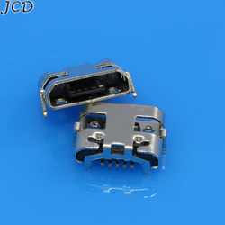 JCD 10-100pcs Para Huawei Y5 II CUN-L01 Micro USB conector jack Para Amazon Kindle Fire 5th Gen SV98LN Tomada USB Plugue Porta