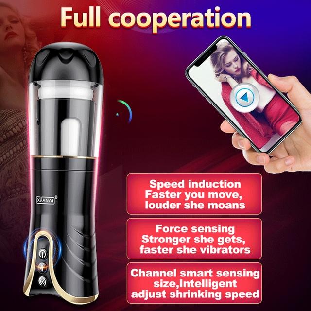 Electric Automatic Masturbator for Men