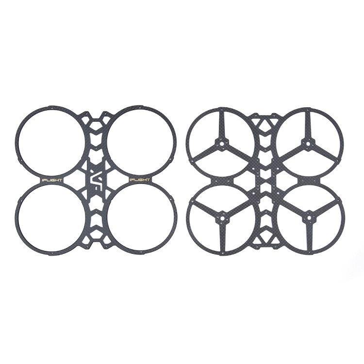 iFlight BumbleBee CineWhoop Frame 142mmFPV Whoop Carbon Fiber Top Bottom Plate for RC FPV Racing Drone Multi-Rotor