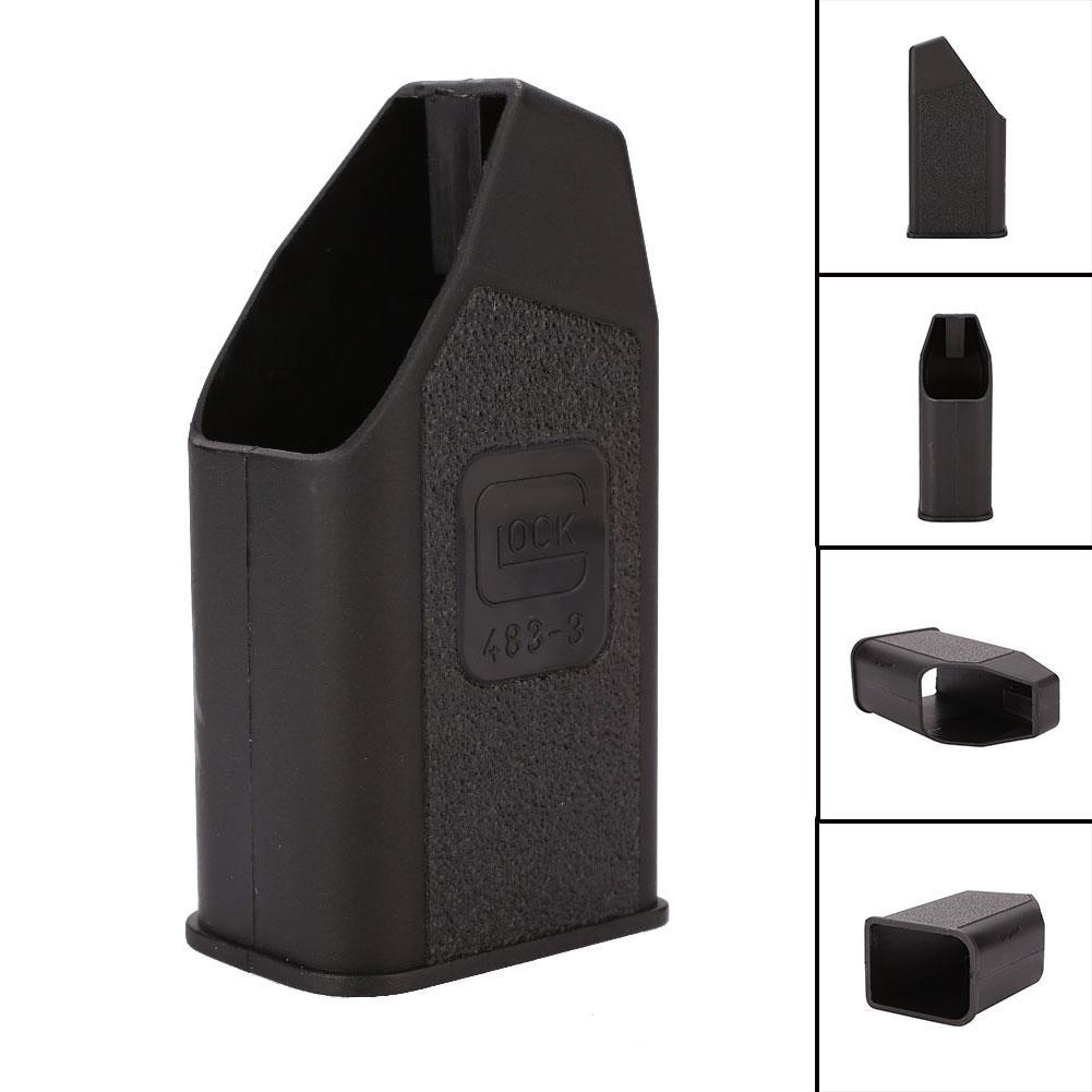Carregador de velocidade de revista de plástico para proteção glock carregador de velocidade mag preto