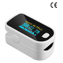 Blood Oxygen Monitor Finger Pulse Oximeter Oxygen Saturation Monitor Fast Shipping within 24hours (without Battery) veterinary fixation bag for small animals cat to patient monitor blood press monitor pets care free shipping