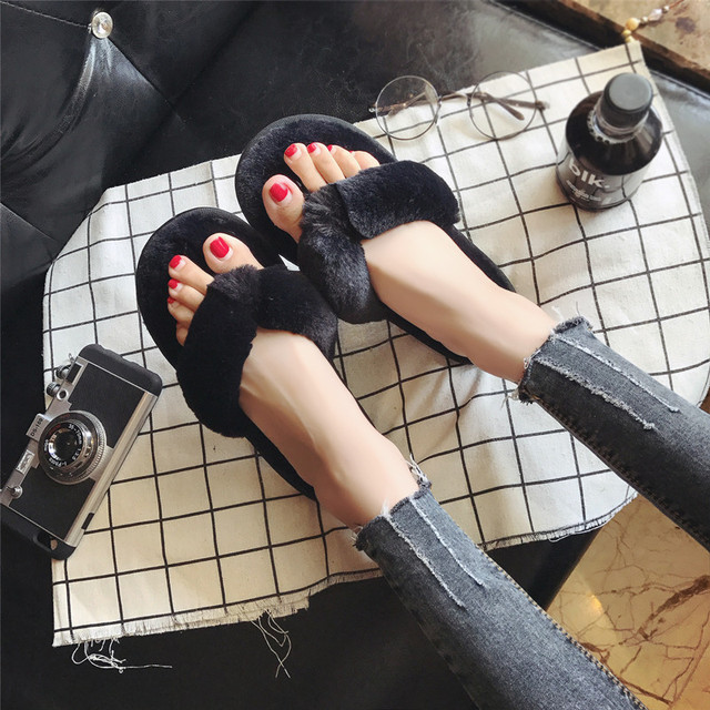 Cozy Fur Slippers 4