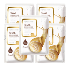 Moisturizing Snail Collagen Facial Mask Essence Whitening Korean Skin Care Products Anti Aging Sheet Face Masks Anti-Acne LH
