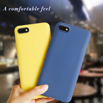 Soft Silicone Cover For Huawei Y5 2018 Case Y5 Lite 2018 5.45 Color Phone Case For Coque Huawei Y5Lite Y 5 Y5 Prime 2018 Fundas image