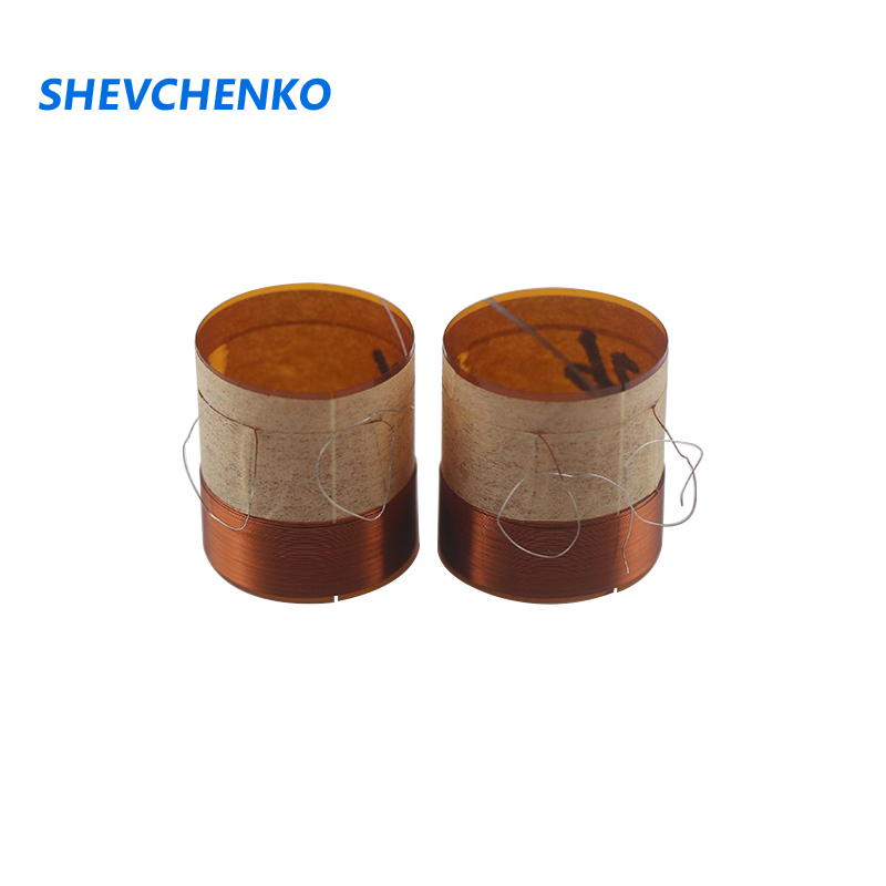 Shevchenko 26mm Core Horn Repair Parts Woofer Voice Coil Round Copper Wire Two-layer Inner Diameter Bass Ring