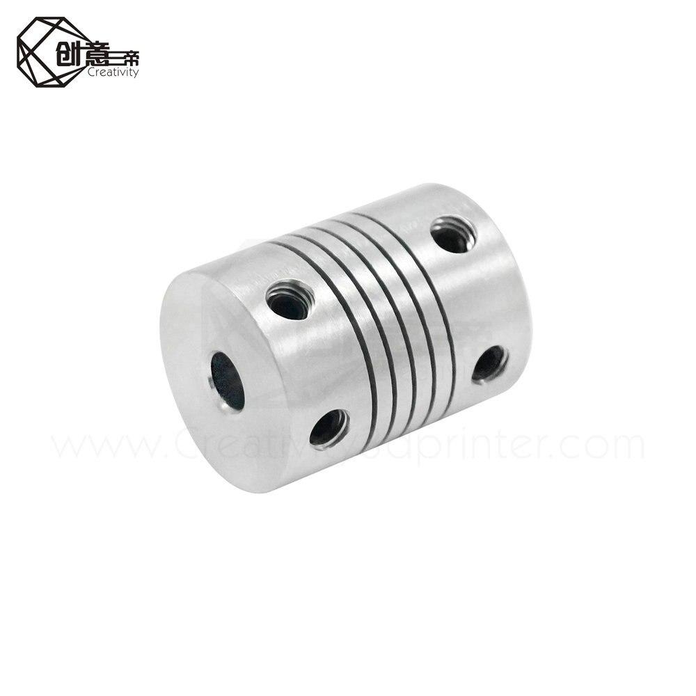 Impresora 3D 1Pcs 5x8x25mm motor paso a paso de Acoplamiento Acoplador//Acoplamiento flexible