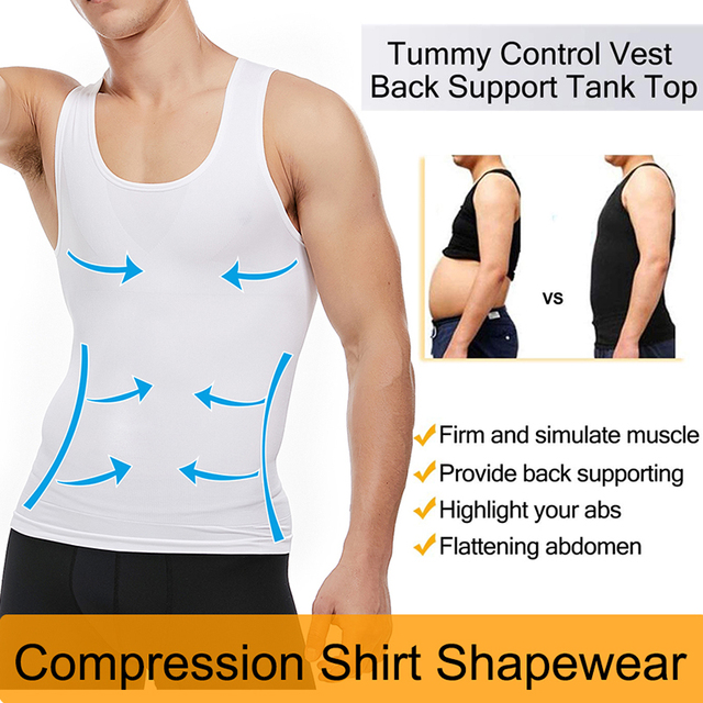 Men Shapers Belt Belly Men Slimming Vest Body Shaper Abdomen Fat Burning Waist Sweat Corset Weight Dropshipping Shapewear 3
