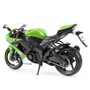 Image 2 - Maisto 1:12 Kawasaki Ninja ZX 10R Black Die Cast Vehicles Collectible Hobbies Motorcycle Model Toys