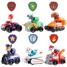 Coche de la patrulla Canina para niños, juego de 9 piezas, Marshall, Everest, Ryder, regalo de cumpleaños