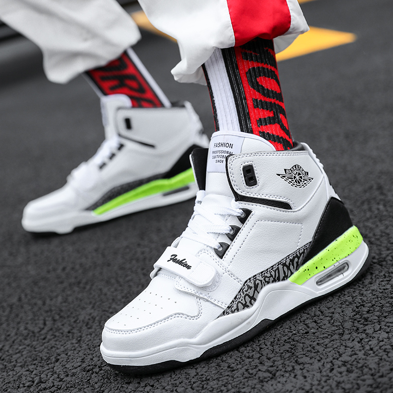 New winter Student Sport running shoes  High Top Basketball Shoes Men/'s Trainers