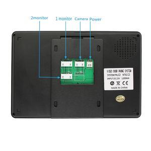 Image 3 - Visiophone filaire avec 7 pouces, empreinte digitale et mot de passe, interphone vidéo, système de sécurité