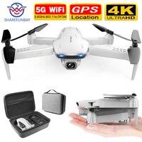 SHAREFUNBAY drone S162 GPS 4K HD 1080P 5G WIFI FPV Quadcopter flight 20 minutes RC distance 500m dron smart return drone pro