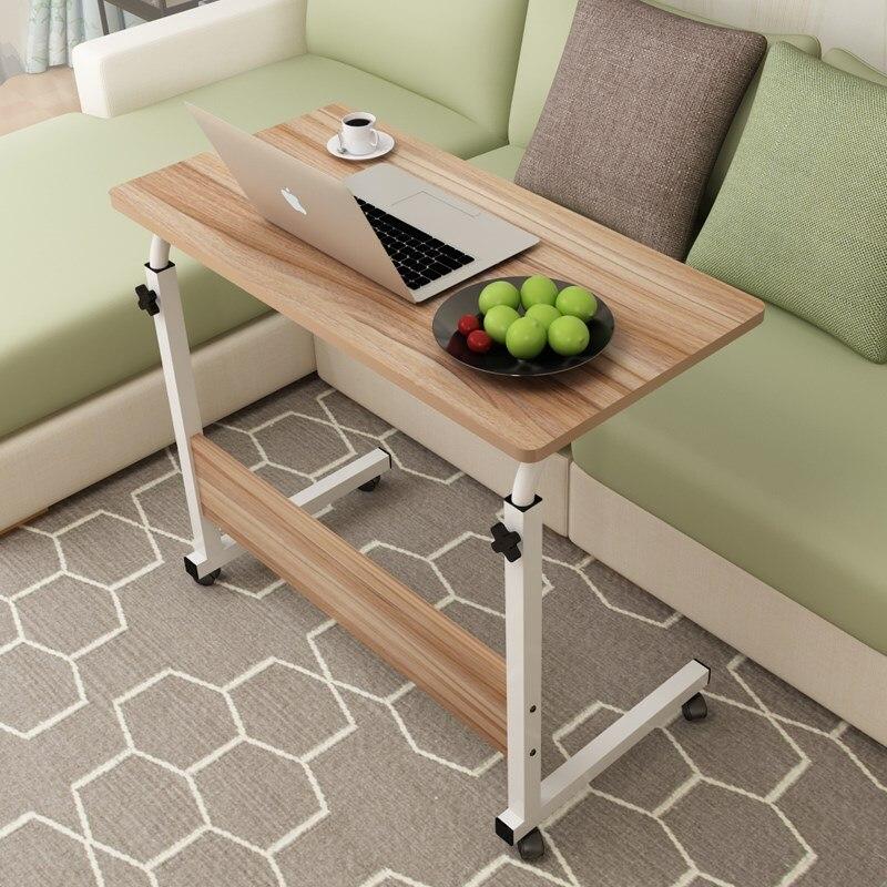 Computerized Desk Lazy Desk Desktop Desktop On Home Bed Desk Simple Small Table Simple Folding Table Movable Bedside Table|Laptop Desks| |  - title=
