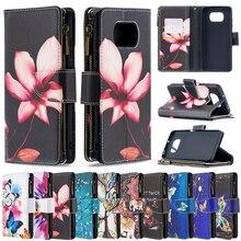 Bao Da Ví Da Cho Xiaomi Redmi Note 10 Pro Max 10S 9T 8 7 6 5 4 Pro mi POCO X3 NFC 10T Lite/Pro Với Thẻ Bỏ Túi