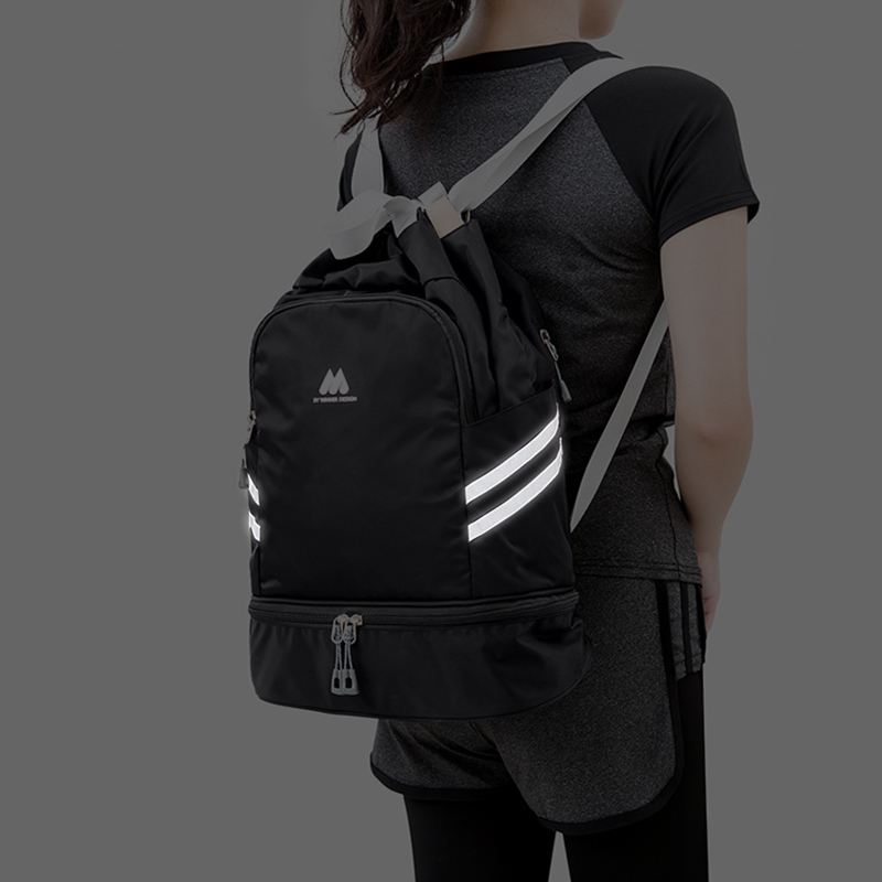 Women Sport Gym Bag Pink Swimming Backpacks For Women Sports Backpack Female Fitness Training Bag Reflective Gym Travel Bags