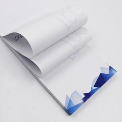 A5 Busines Auftrag Broschüre 10*50 Seiten Papier Custom Druck Papier Design Unternehmen Schreibwaren Werbung 80gsm Papier