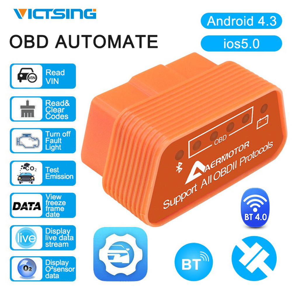 VicTsing Car Diagnostic-Tool Scanner motor ELM327 Wifi Auto Diagnostic Scanner Compatible with Android IOS Car Error Code Reader