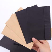 10Pcs/Lot 10.8cm X 16cm Recycled Envelopes Card Postcard Envelope Card Making Colored Greeting Cards In Classical(China)
