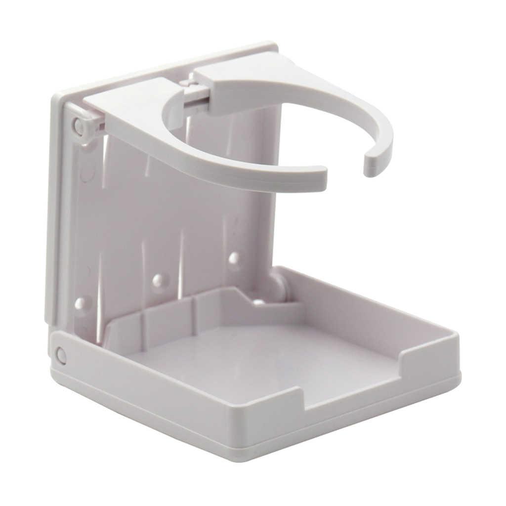 portabotellas plegable de acero inoxidable 304 plateado para barco marino cami/ón Portavasos ajustable para bebidas RV