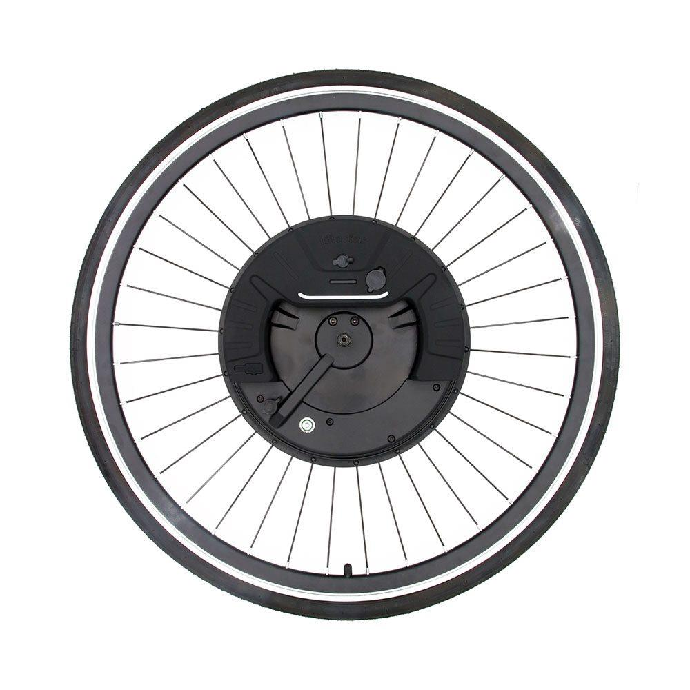 iMortor3 Permanent Magnet 350W 36V DC Motor <font><b>Wheel</b></font> Max 35km/h Disc brake <font><b>Bicycle</b></font> <font><b>700C</b></font> <font><b>Wheel</b></font> App Control Adjustable Speed USB Port image