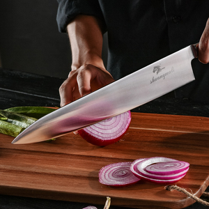 Image 3 - 전문 12 인치 요리사 나이프 독일 1.4116 스테인레스 스틸 gyuto 나이프 고품질 주방 나이프 요리 도구