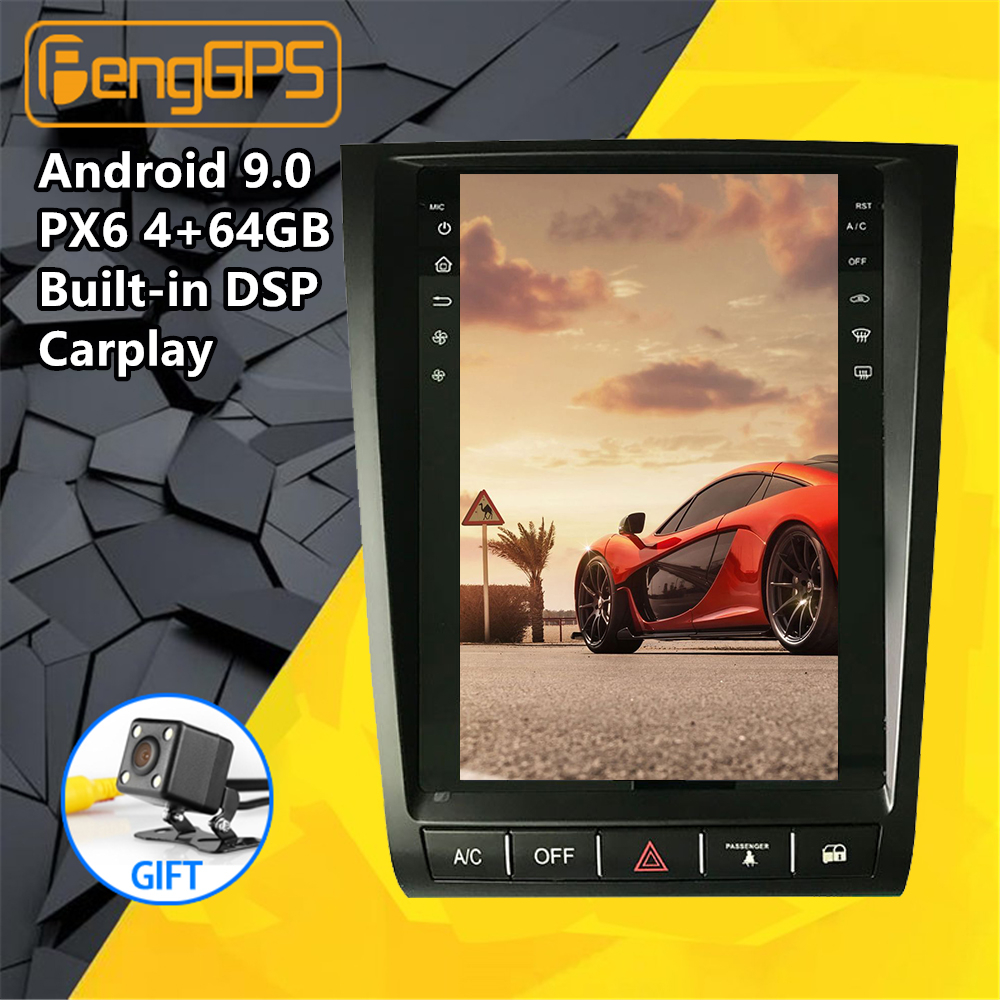 Tesla screen Android px6 For <font><b>Lexus</b></font> <font><b>GS</b></font> GS300 GS460 GS350 2004-2011 Car Multimedia Radio upgrade stereo player GPS nav Head unit image
