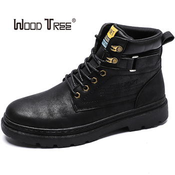 2020 new fashion early season winter boots men's shoes cool youth men's boots fashion street men's shoes single ankle boots