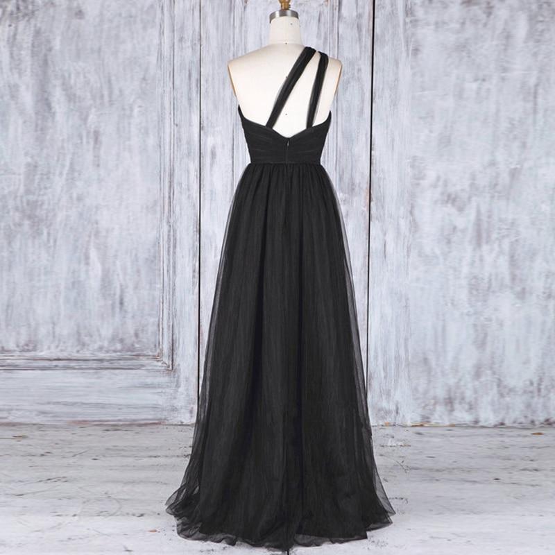 Bridesmaids Dress 2020 Tulle Formal Dress Vestido Party Dress Black Dress Wedding Guest Dress Sukienki Robe Demoiselle D'honneur
