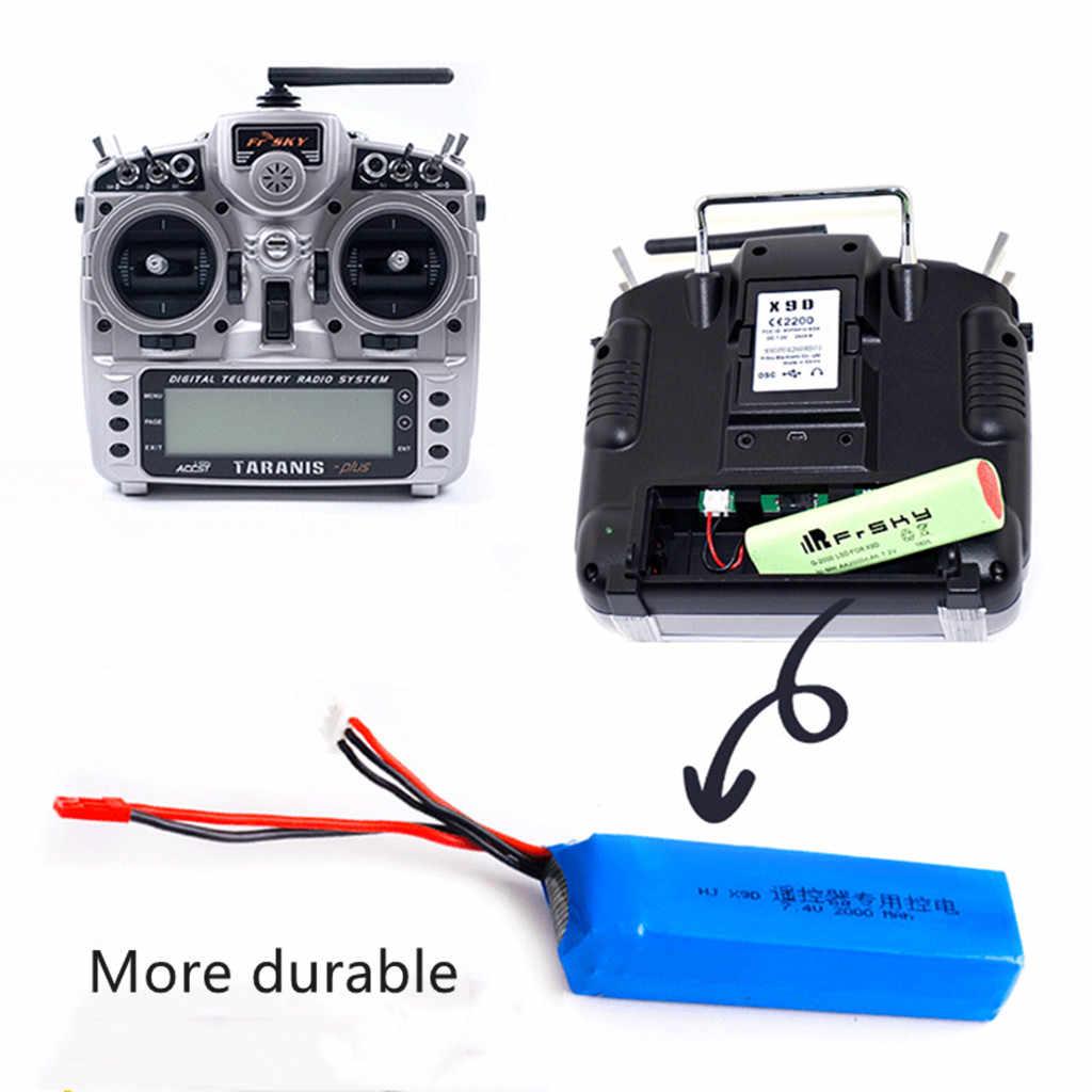 Merakit Bagian Mainan Menyenangkan Robot Peningkatan 7.4V 3000 MAh Baterai Lipo Bagian untuk Order Alerts Taranis X9D Plus Transmitter Anak-anak anak-anak