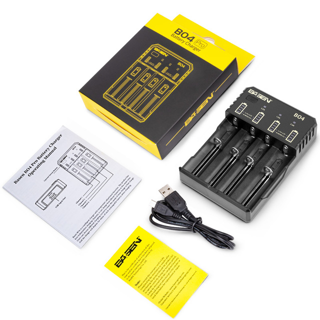 BASEN 18650 ładowarka do 1.2V 3.7V 3.2V 18650 26650 21700 18350 AA AAA bateria litowa NiMH inteligentna ładowarka 5V 2A wtyczka
