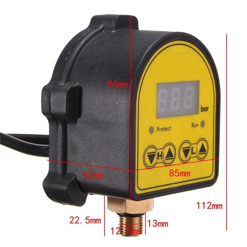 Image 3 - Цифровой контроллер автоматического воздушного насоса водяного масла компрессор переключатель регулятора давления для водяного насоса вкл/выкл Au PlugВыключатели    АлиЭкспресс