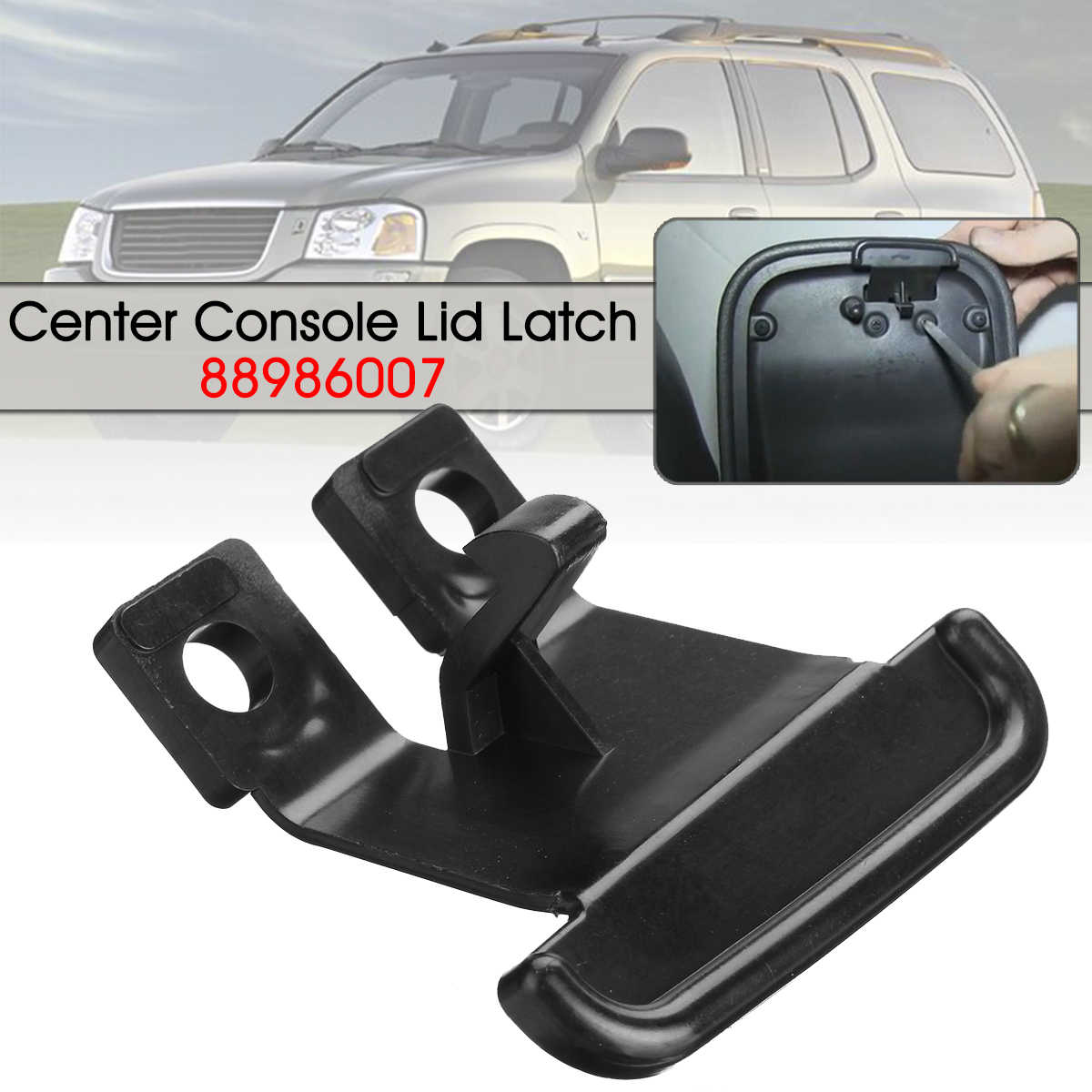 Car Armrest Cover Latch Clip Center Console Lid Lock For Chevrolet Trailblazer For Buick Rainer 88986007 Armrests Aliexpress