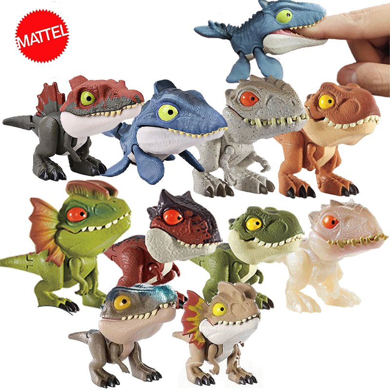 Jurassic World Mini Joint Dinosaur Action Anime Figure Toys Figuras De Coleccion De Accion Hot Toys For Children Boys Girls Gift