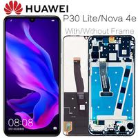 2312*1080 AAA Original LCD With Frame For HUAWEI P30 Lite Lcd Display Screen For HUAWEI P30 Lite Screen Nova 4e MAR LX1 LX2 AL01|Mobile Phone LCD Screens| |  -