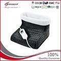 220V-240V 100W мягкие микроплюшевые электрические грелки обувь моющиеся тепловые гетры для женщин Портативные теплые ботиночки EU Plug
