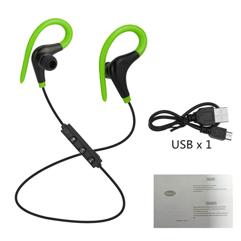 Wireless Headphones Sport Running Bluetooth Earphone Handsfree Bass Stereo Bluetooth Headset with Mic For xiaomi all Smart Phone