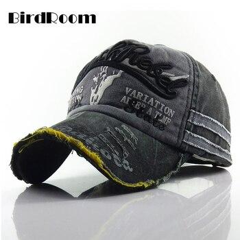 Men Baseball Cap Adjustable Snapback Hat Vintage Hip Hop Gorras Summer Sun Visor Unisex Streetwear Sunhat EmbroideredMulticolor