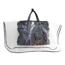 Yuding Transparent Handbag Rain Cover Fashionable Protector Bags Purse Waterproof Covers Clear EVA Dust