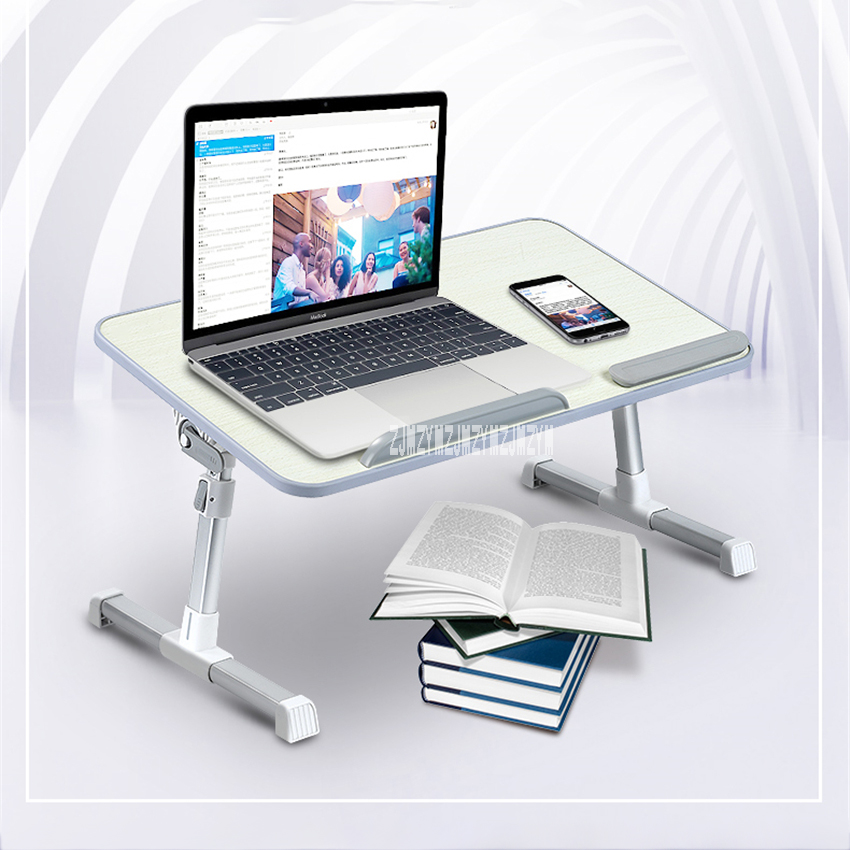 Bed Laptop Lift Folding Table Notes Desk Brackets Bedroom Simple  Dormitory Student Lazy Home Learning Writing Artifact