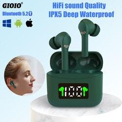 J5 TWS sans fil écouteurs Bluetooth casque de musique LED affichage numérique écouteurs Sport HD appels pour Huawei Xiaomi Iphone
