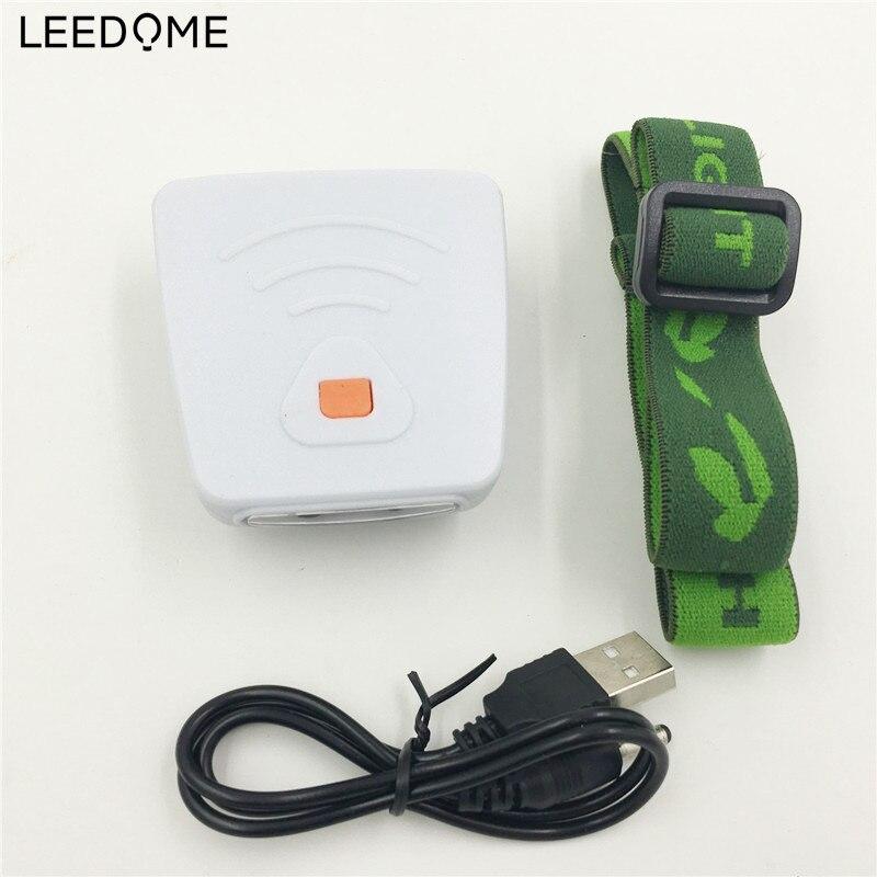 Портативный светодиодный налобный фонарь с зажимом, Головной фонарь, фонарик, USB, перезаряжаемый фонарь для кемпинга, походный фонарь для но...