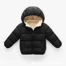 Baby Coat Winter Jackets Newborn Infant Cotton Thick Warm Long Sleeve Hooded Coat Outerwear Kids Clothing Parkas Children CL2095 baby girls denim jackets coat fur hooded parkas plus thick winter warm children outerwear long clothes kids clothing q2069